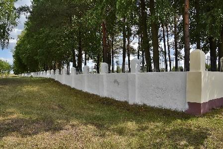 Место расстрела евреев Калинковичей