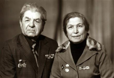 Аня и Яша Абрамсон