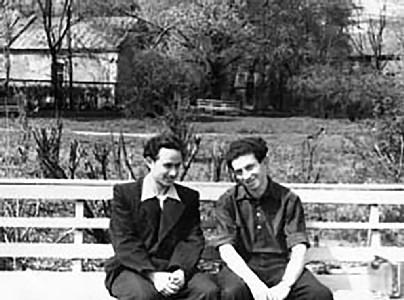 Яков Коломинский и Давид Симанович