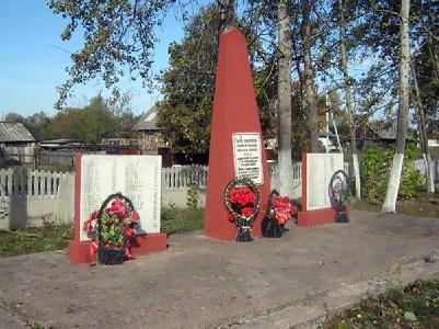 Братская могила, в которой похоронены евреи