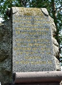 Паричи. Памятник расстрелянным евреям