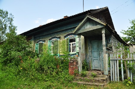 Еврейские дома в Поболово