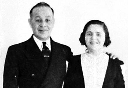 Изадор и Роза Блюмкины