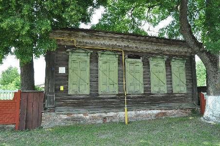 Ветка. Старый еврейский дом