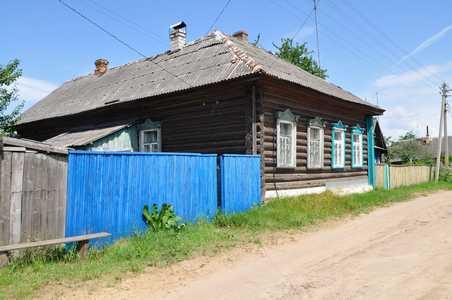 Старый еврейский дом в Березино.