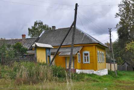 Дом, где жила семья Анны Антоновны Иванович.