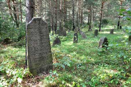 Еврейское кладбище на ул. Горной.