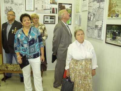 "Opening of the exhibition ""Jewish Borisov""."