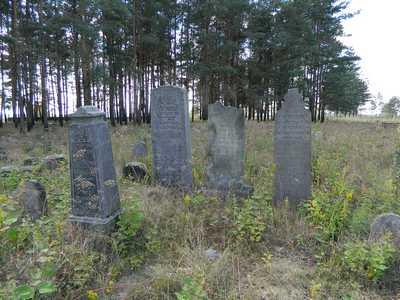 На еврейском кладбище в Борисове.