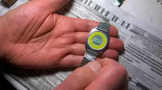 Сашины часы.