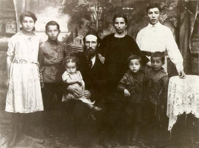 Семья Боруха Гельфанда. Червень, 1924 г.