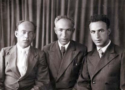 Яков, Моисей, Илья Гельфанды.
