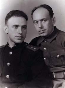 Илья и Яков Гельфанды.