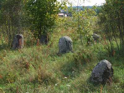 Городок. Еврейское кладбище.