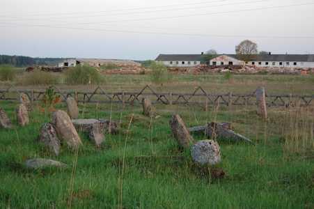 Илья. Еврейское кладбище.