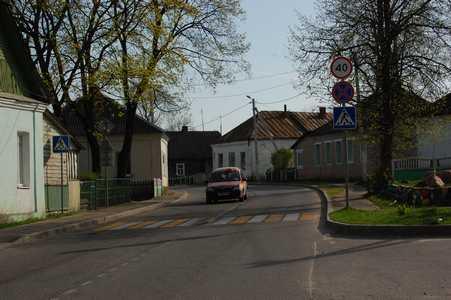 На улице Куренца.