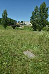 Остатки еврейского кладбища Логойска.