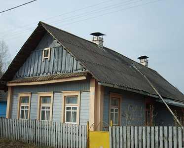 Дом Каца Іцкі, дзе хаваўся 2 месяцы яго сын Шолам.