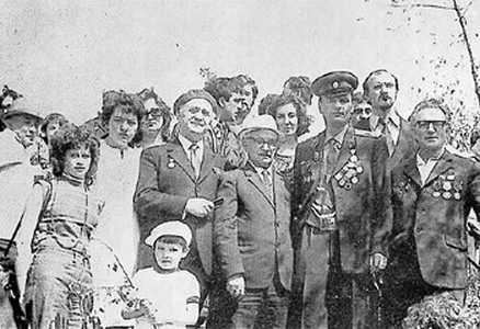 Шмая Горелик, Давидович и Овсищер.