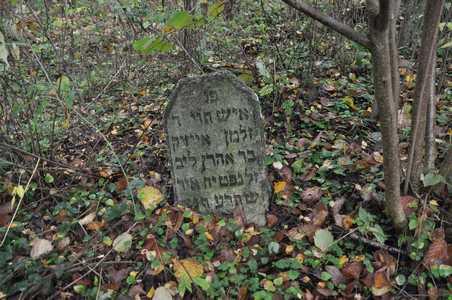 Еврейское кладбище местечка Обчуга.