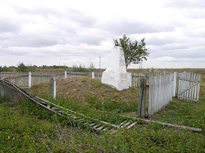 Обелиск на месте расстрела евреев Погоста.