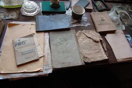 Rakov. Jewish books preserved by Yanushkevich.