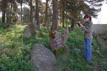 Раков. Еврейское кладбище.