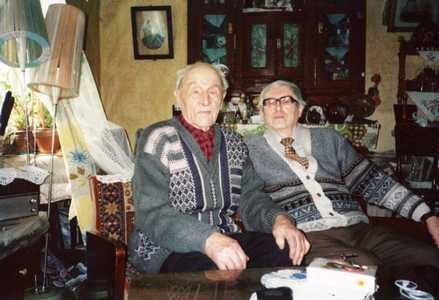 Семен и 100-летний дядя Соломон.