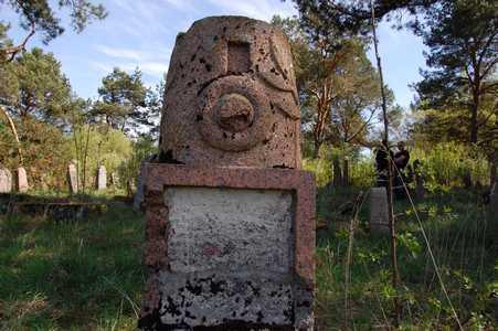 Svir. The Jewish cemetery.