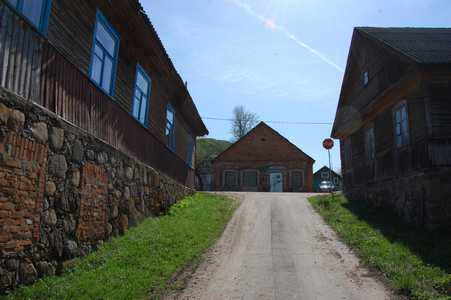 Svir. Old Jewish houses.