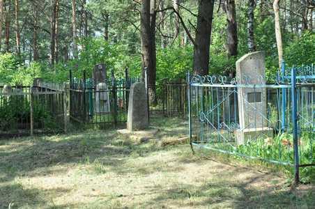 Еврейское кладбище Уречья.