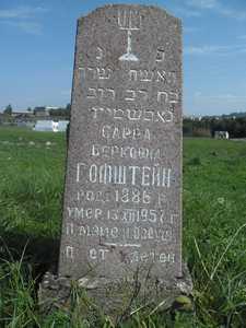 Еврейское кладбище в Воложине.