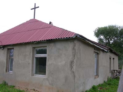Baptist church in Batsevichi, possibly former synagogue.
