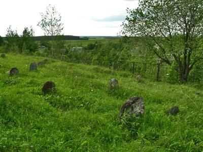 Еврейское кладбище.