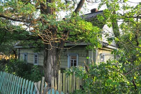 The last Jewish house in Belynkovichi.