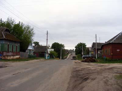 Быхов. Улица Дорохова.