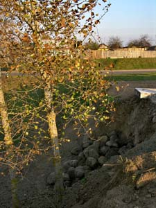 Gonkov ditch – execution site.
