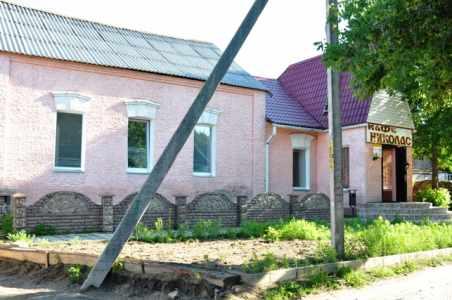 Здание бывшей синагоги.