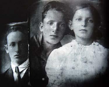 Мои племянники: Миша, Аркадий и Аня.