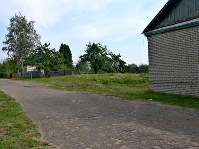 Место, где стоял дом Льва Маневича.