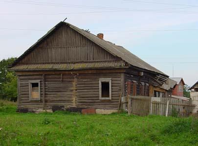 Старый еврейский дом в Черневке.