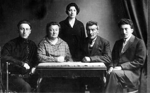 Семья Кудрявицких.