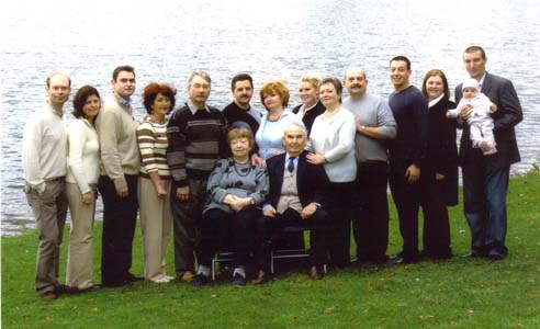Semion Kotlov's family.