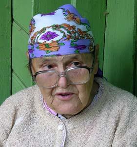 Мария Филимоновна Грибалова.