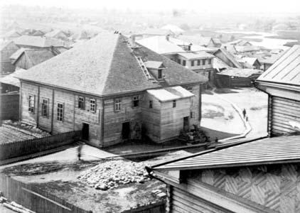 Горецкая синагога.