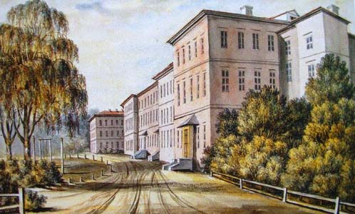 Горы-Горецкий земледельческий институт.С картины Наполеона Орды.