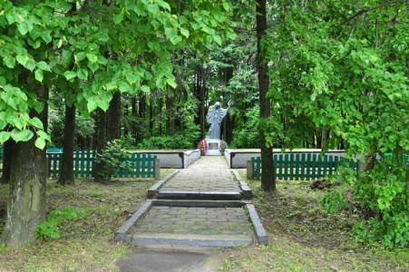 Place of execution of Gorky Jews.