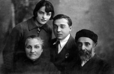 Семья Ризовых.