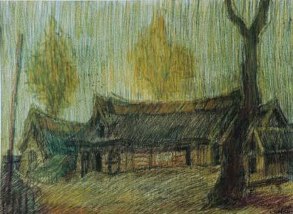 Yakov Simkin. Landscape.