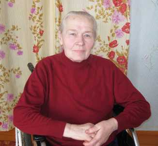 Нина Матвеевна Кашлач.